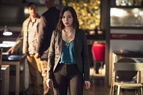 Malese Jow on The Flash.